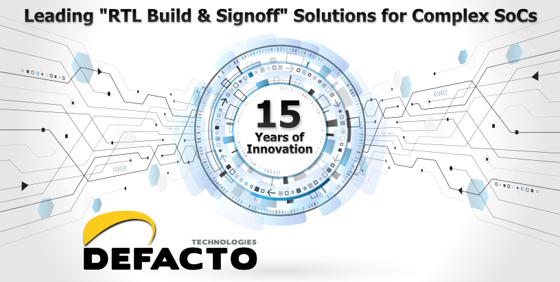 "Leading ""RTL Build & Signoff"" Solutions for Complex SoCs"